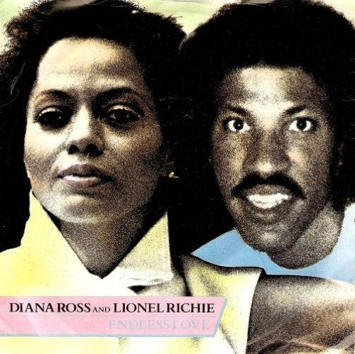DIANA ROSS AND LIONEL RICHIE Endless Love Vinyl Record 7 Inch Motown 1981